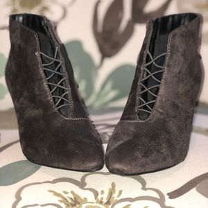 Sueded Booties —NEW